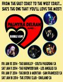 Palmyra Delran & Bubble Gun/ West Coast Tour!