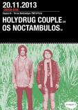 mer20nov Paris THE HOLYDRUG COUPLE + OS NOCTAMBULOS espaceB